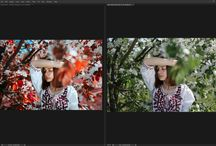 Retouch examples / Retouch and tutorials