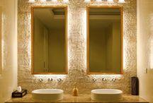Luces de relajación: Baño tipo Spa / En este tablero encontrarás ideas para iluminar tu baño de manera que luzca agradable y sea un espacio acogedor para el usuario