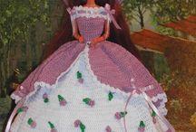 Barbie háčkování