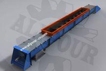 اسکرو کانوایر screw conveyor