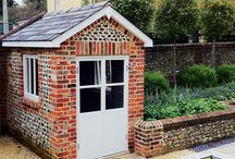 Brick constructions for gardens