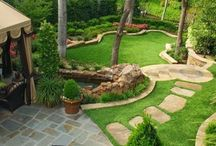 Beautiful Backyards / A collection of #Beautiful #Backyards we love! You can create these finished products by using our Landscape Edging from YardProduct.com. #Landscaping