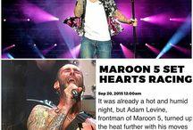 Maroon and Adam Levine 3