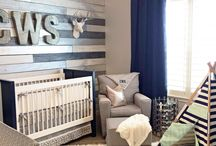 Baby boy nursery / Put together to make one room