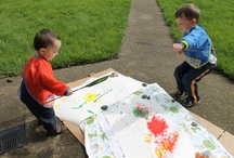 baby art group  / inspiration as well as projects accomlished