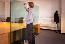 Write on Wipe off Glass Screens / Write on Wipe Off Glass Screens.  The ideal practical screen for offices, meeting areas, hotels and education.  These screens can be manufactured in any size, in blue, green, yellow or clear glass.