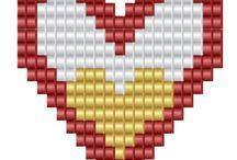 День святого Валентина бисер