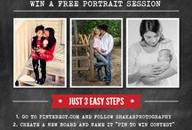 Pin it to win it! / Win a FREE Portrait Session!!
