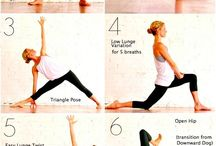 Yoga well being / Yoga ideas for stretches and well being