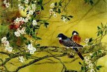 pintura oriental