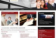 Profession libérale - Sites Internet / Sites Internet crées par Cognix Systems, agence Web située à Rennes et Brest, pour les professions libérales