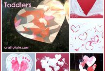Toddler valentine crafts