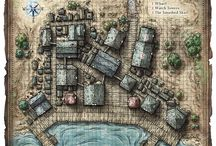 RPG maps: Villages & Towns