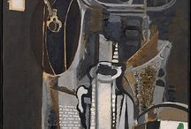 Art: Georges Braque / French painter 1882-1963. Cubism.