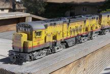 Train maquette