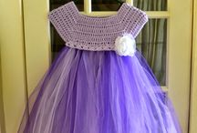 Crochet - Girls ballerina dress
