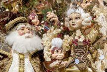 Красивое Новогоднее оформление / Модные новогодние игрушки и украшения, как красиво нарядить елку, красивые новогодние композиции, идеи для оформления Нового Года