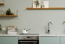 Farge til kjøkkenet