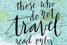 On the road ... up in the air ... on the sea / travel inspiration, ideas ... dreams and dream come trues