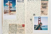 Carnet de voyage / Toutes les idées pour faire des carnets de voyage avec les enfants !
