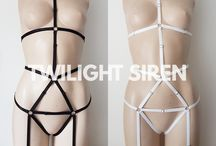 PLAYSUITS/ BODY HARNESSES