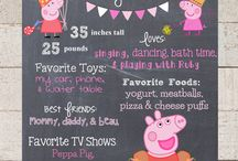 Peppa Pig Party: the big 3!
