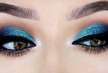 Μακιγιαζ με μπλε