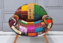 My favorite creations with beautiful fabrics / A collection of wonderful creative design ideas