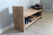 Chunky Wood Furniture