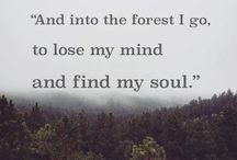 Sometimes a girl just has to hike somewhere! / Balm for a weary soul