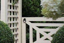 Gates / An important detail for the exterior of a home / by Dana Wolter