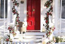 navidad fachadas de casas