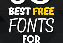Fonts and typographi