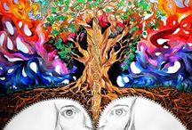 ART. / spiritual, trippy & inspirative art.  love.