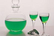 likör ve değişik içecekler