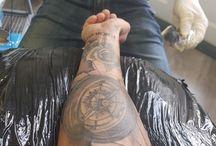 tatoo bússola