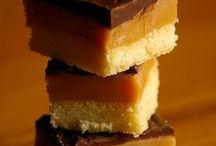 petits carrés  caramel