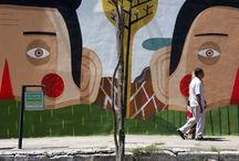 DAVID GUERRA - ARTE DE RUA E IMPACTO -  STREET ART AND IMPACT