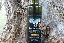 KOUSKOULAS Single-Source Estate Extra Virgin Olive Oil / Limited Edition, 100% Greek Single-Source Extra Virgin Olive Oil from our family estate!
