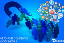 Tips to post content in Social Media's / - Frequent updates in websites/social networking helps to attract the new clients and makes existing clients engaged - Being active in social media/websites will be cost effective and more efficient for the business....http://maxxerp.blogspot.in/2014/01/tips-to-post-content-in-social-medias.html