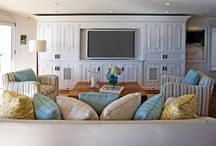 TV cabinetry / by Katrina Chambers
