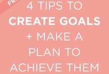 Making Goals and Planning