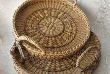 Плетение / Плетение из бумажных трубочек