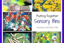 Sensory bins