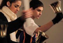 Music teaching hand bells