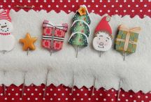 Noel chez nous... / Homely pieces, Christmas gifts and stitching favorites..
