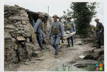Soldat Portugais / Photos colorisées de soldats portugais durant la première guerre monial.