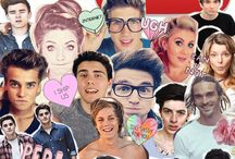 ★ YouTubers ★ / why go out when I could just watch youtubers all night / by Rachel
