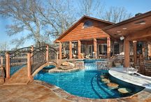 Hot Tubs and Spas / Interested in hot tubs and spas? We have you covered! Visit our pins for ideas and to see our luxury spa projects from our customers in Little Rock, AR.