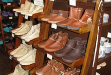 Sundance Leather & Sheepskin / Hand-made leather and sheepskin moccasins, slippers, boots, shoes, clogs, hats and gloves since 1971 from Guffy, Colorado. Purchase online at http://www.sundanceleather.com/ or in-store at Sundance and Friends in Buena Vista, Colorado .